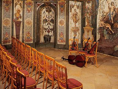 Konzerte im Mozarthaus - Sala Terrena