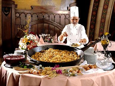 Espectáculo Cena a la austríaca