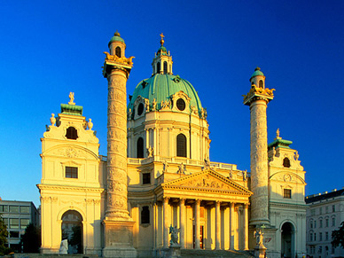 St.Charles Church, Vienna