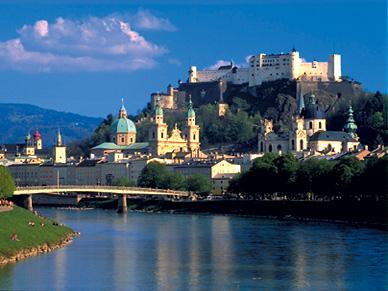 Salzburg - Wolfgang Amadeus Mozart