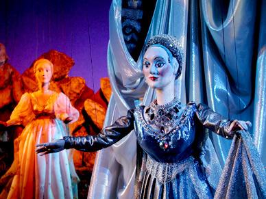 Teatro de marionetas en Schönbrunn
