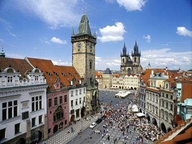 Visite guidée « Prague, ville dorée »