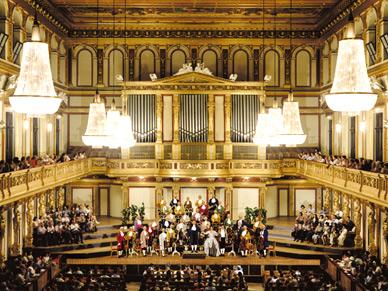 Mozart V.I.P Ticket - Orchestre Mozart de Vienne, Salle dorée